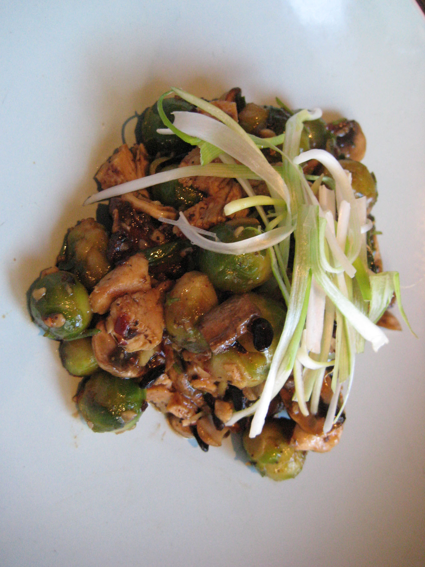Brussels Sprouts With Black Bean Garlic Sauce Recipe ...