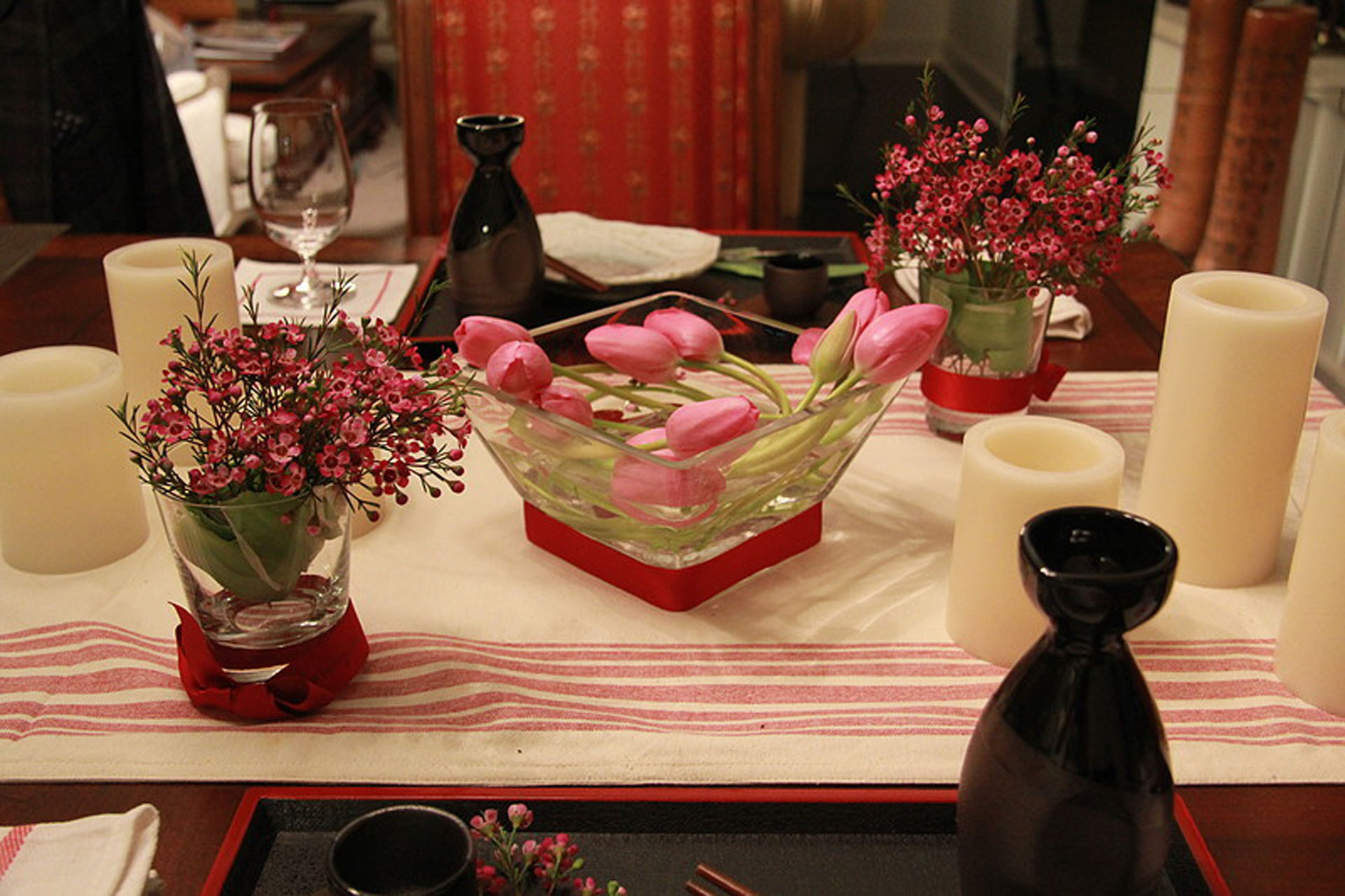 Asian Inspired Table Setting