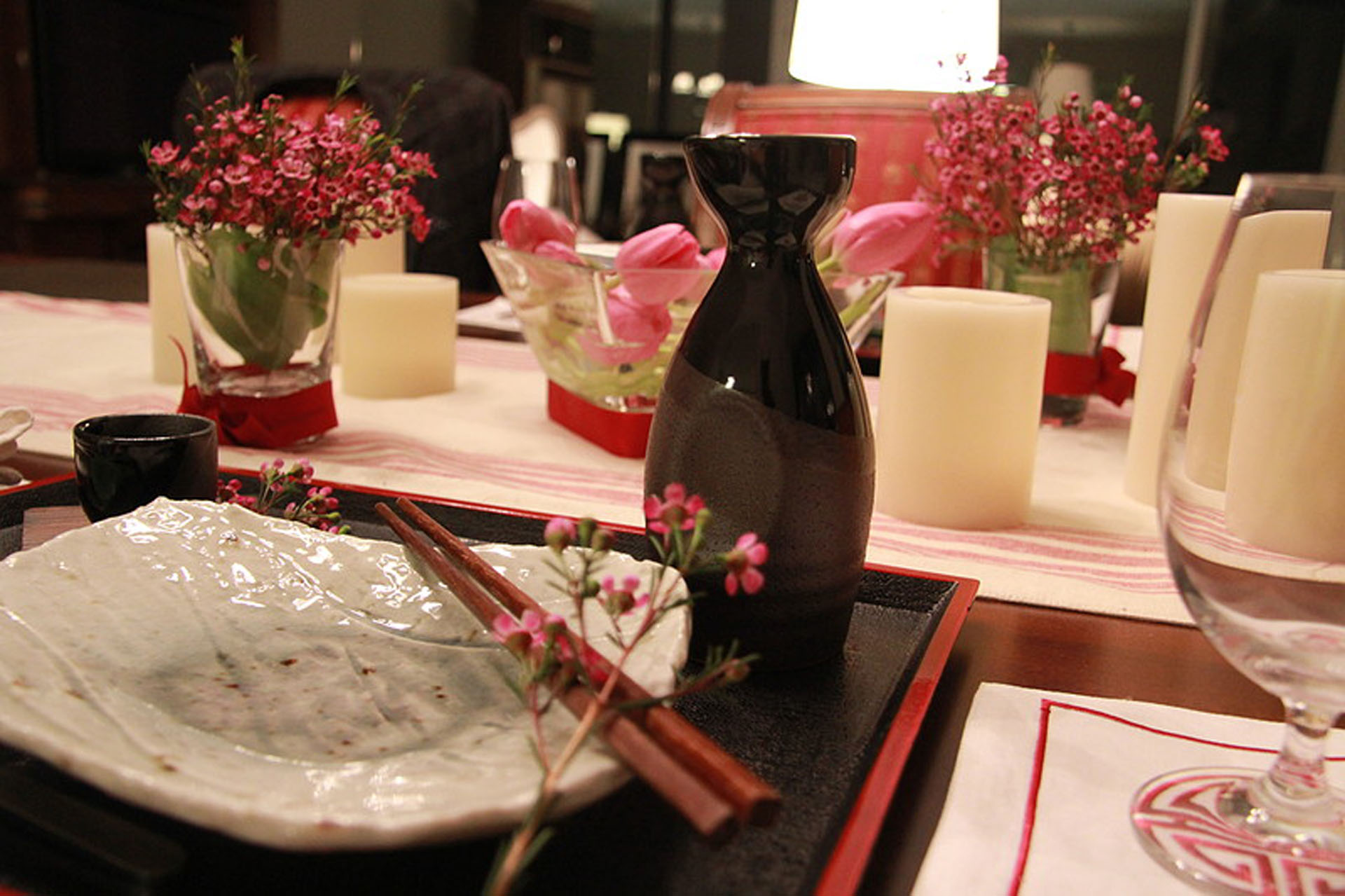 Easy Asian Inspired Table Setting & Asian Inspired Table Setting - Fangalicious