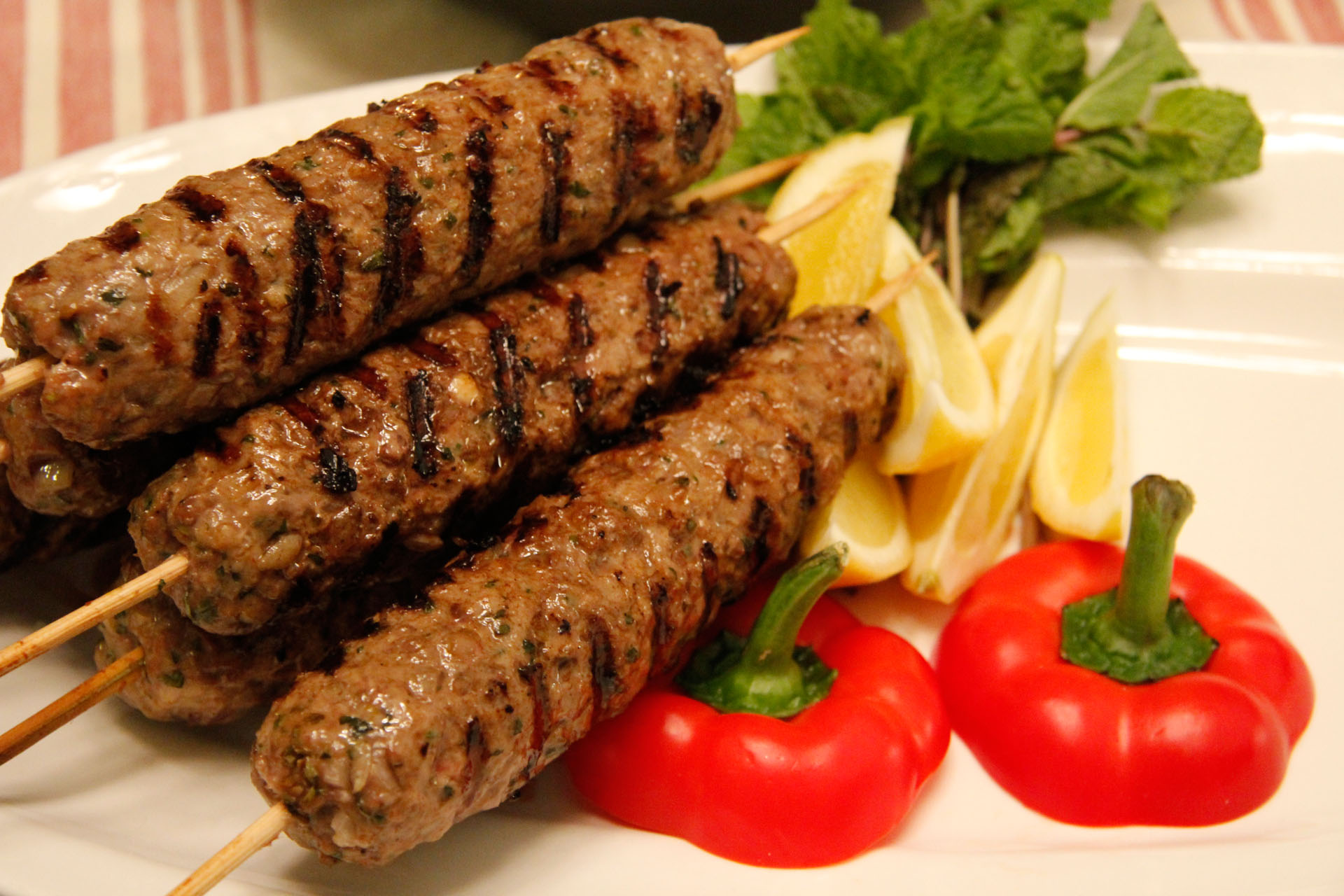 Spicy Ground Lamb Kebabs - Fangalicious